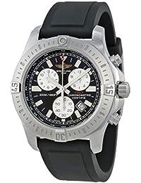 Breitling Colt montre chronomètre en caoutchouc noir pour homme Cadran noir A7338811-BD43