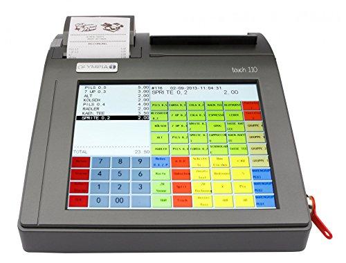OLYMPIA Touch 110 Touch-Screen Registrierkasse (für Handel und Gastronomie)