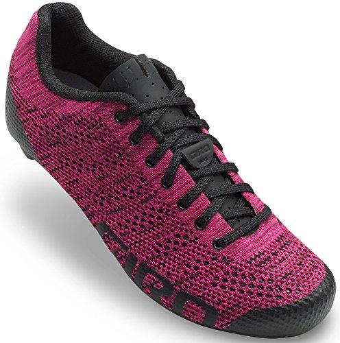 Giro Empire E70 Knit Damen Rennrad Fahrrad Schuhe pink/schwarz 2018: Größe: 40.5