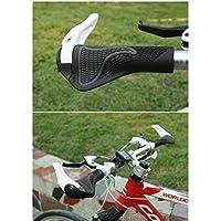 bioings (TM) Speical MTB bici da strada antiscivolo manubrio da bicicletta in lega accessori parti manopole Fixie Bicicleta steering-wheel yc066-sz