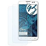 Bruni Schutzfolie für LG G Pro Lite Folie, glasklare Bildschirmschutzfolie (2X)