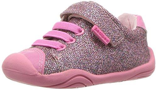 Pediped Katelyn - Zapatos para niñas, color argent (silver), talla 6-12 meses pediped