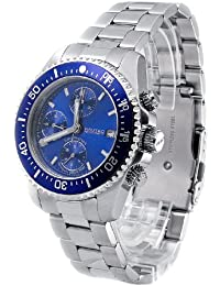 Nautec No Limit Herrenarmbanduhr Deep Sea Chronograph DS-A 8850/STBL