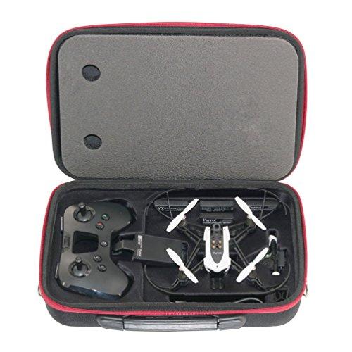Preisvergleich Produktbild Anbee Hartschalenkoffer Schultertasche Kasten Case für Parrot Minidrone Mambo Drone und Flypad Fernbedienung