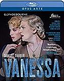 Barber : Vanessa (Glyndebourne). Bell, Verrez, Montvidas, Plowright, Albert, Hrusa, Warner. [Blu-Ray]