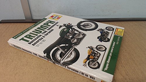 Triumph Bonneville, T110, Speedmaster, America and Thruxton Service and Repair Manual: 2000 to 2005