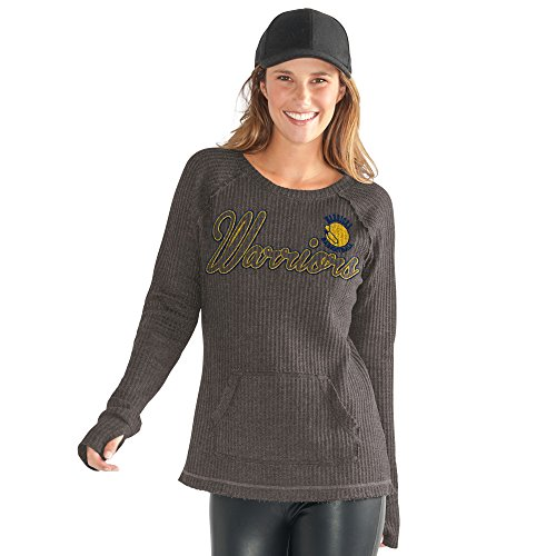 GIII For Her Off Season Pull über, Damen, Hardwood Classic Off Season Pull Over, anthrazit, Small