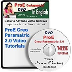 ProE Creo Paramatic 2.0 Training in English (114 HD Video, 12 Hrs) 1 DVD
