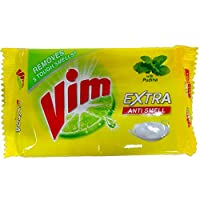 Vim Extra Anti Smell Dish Wash Bar - with Pudina, 130g Pack