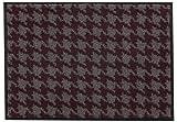 Schöner Wohnen Broadway Türmatte Fußmatte Hahnentritt Beere Fb.11, Größe:60x180 cm