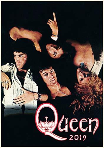 2019 Kalender [12 pages 20x30cm] Queen Rock Legend Vintage Musik Photos Plakats