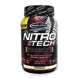 Best MuscleTech Weight Gain Supplements - Muscletech Nitro Tech Hardcore Pro Series Vanilla Powder Review
