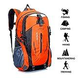 Gshopper Zaino da Trekking 40L Zaini da Escursionismo Leggero Impermeabile per Viaggi in Montagna Arrampicata in Campeggio Orange