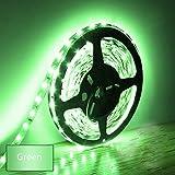 Eksave 5M LED-Streifen 300 Stück SMD 5630 12V Niedervolt-Striplight Nicht-wasserdichte LED-Band Grün Green Ribbon Beleuchtung für Home Küchenschrank TV Hintergrundbeleuchtung und vieles mehr