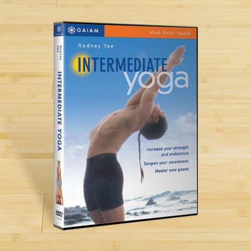 Preisvergleich Produktbild Gaiam Intermediate Yoga DVD 90-0051