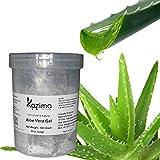 #3: KAZIMA Aloe Vera Gel Raw - 100% Pure Natural Gel - Ideal for Skin Treatment, Face, Acne Scars, Hair Treatment, Moisturizer & Dark Circles (500 Gram)