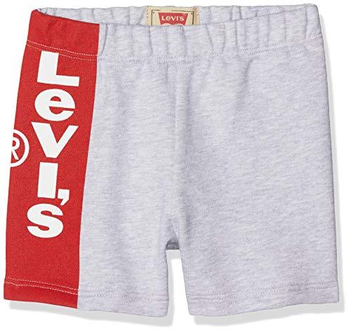 Levi's Kids Baby - Jungen Nn26024 22 Short Badeshorts, Grau (Light China Grey 22), 18-24 Monate (Herstellergröße: 24M) -