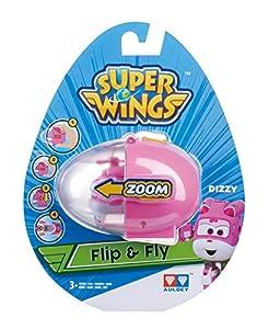 Auldeytoys yw710664Super Wings Flip N Fly de Dizzy juguete, unisex de Child