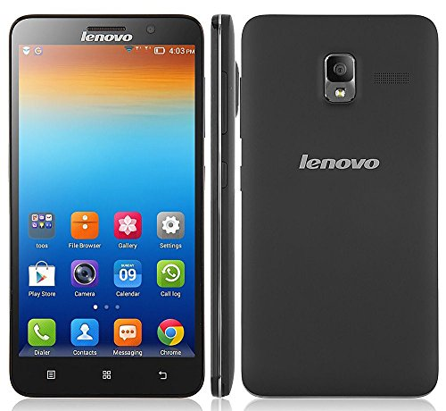5.5-Inch Unlocked Lenovo A850 3G Smartphone-(960x540) Quad Core 4GB MT6582m 1331MHz Android 4.2 Dual Camera +Dual SIM -Black (Rooted + Google Play)