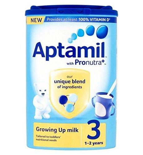 Preisvergleich Produktbild Aptamil Kleinkinder 1+Jahr Wachsend Auf Milchpulver Wanne - 3 x 900g