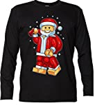 Renowned Men's Longsleeve Toy Santa black X-Large