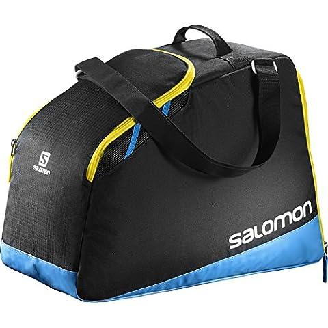 Salomon Extend Max Gearbag Bolsa para equipo, 39 cm, 40 Litros, Black/Process Blue/Corona Yellow