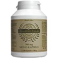 Olivenblatt-Extrakt Kapseln 500mg Mono-Kapseln 180 Stk, SinoPlaSan