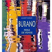 Burano, perle de Venise. Illustrations de photos en couleurs