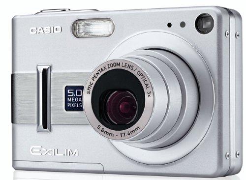 Casio EXILIM EX-Z55 Digitalkamera (5 Megapixel)