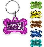 Hundeanhänger fürs Halsband Hundehalsband Anhänger mit Hund Name Telefonnummer