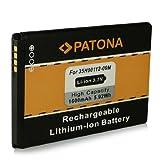 Batterie 35H00134-xxM | BA-S420 | BA-S440 | BB00100 | BB96100 | PC40100 pour HTC 7 Trophy | A3333 | A6363 | Buzz | Droid Eris | Evo 4G | Legend G6 | M1 | Spark | T8686 | T8689 | Wildfire G8 et bien plus encore… [ Li-ion, 1600mAh, 3.7V ]