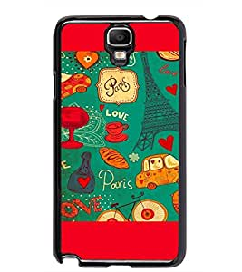 PRINTSWAG LOVE PATTERN Designer Back Cover Case for SAMSUNG GALAXY NOTE 3 NEO