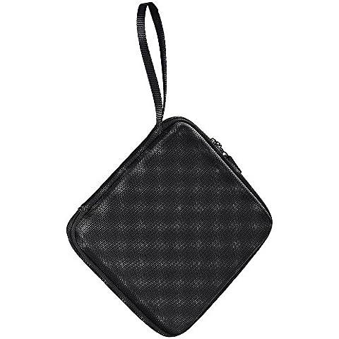 VicTsing Funda/ Bolsa Portátil de Viaje para USB Externo, DVD, CD, Blu-Ray, Grabadora/Quemador y Unidad Óptica
