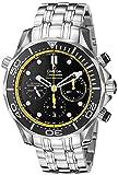 OMEGA Herren-Armbanduhr 44mm Armband Edelstahl + Gehäuse Schweizer Automatik Chronograph 21230445001002