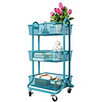 Bathroom Carts: Home & Kitchen: Amazon.co.uk on bathroom stool on wheels, kitchen cabinets on wheels, bath on wheels, pantry rack on wheels, vintage metal cart wheels, bathroom mirror on wheels, pedestal bar table with wheels, planter on wheels, mexican painted wooden cart wheels, vintage metal laundry baskets with wheels, kitchen storage on wheels, bathroom cabinet on wheels, dining chairs on caster wheels, rolling metal cart on wheels, bathroom cart, bathroom mirrors with storage, bathroom rack on wheels, bathroom shelf on wheels, beach caddy cart wide wheels,