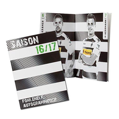 Borussia Mönchengladbach Autogrammbuch/Buch 2016/17 - plus gratis Lesezeichen I love...