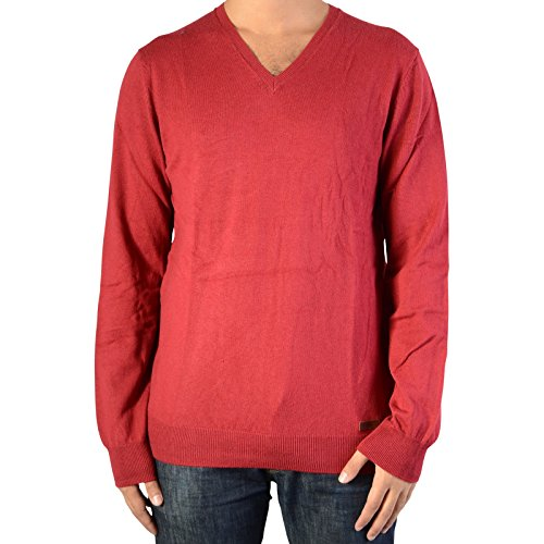Pull Pepe Jeans New Justin Burnt Red PM701215 Rouge