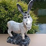 Esel Dekofigur Muli Gartenfigur Tier Tierfigur