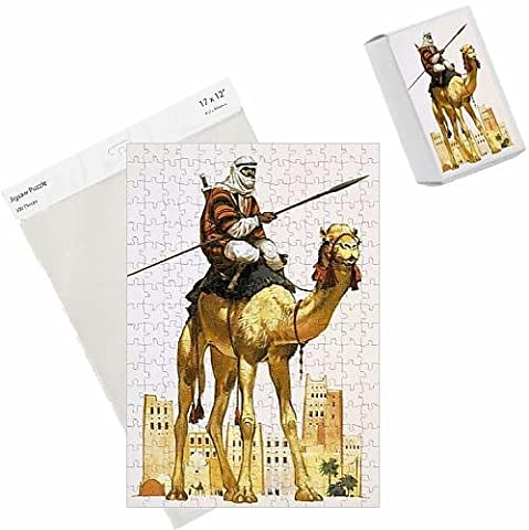 Photo Jigsaw Puzzle of Arab on camel