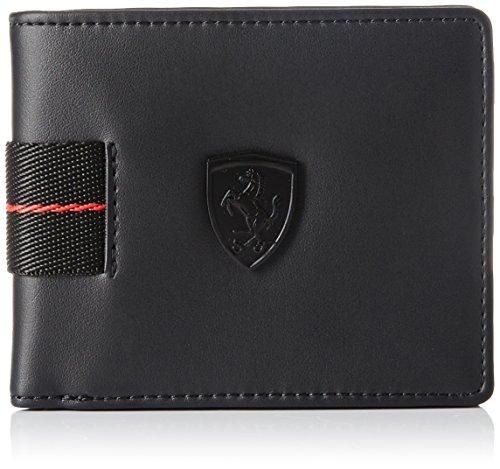 Ferrari Damen Herren Geldbörse Geldbeutel Portemonnaie schwarz