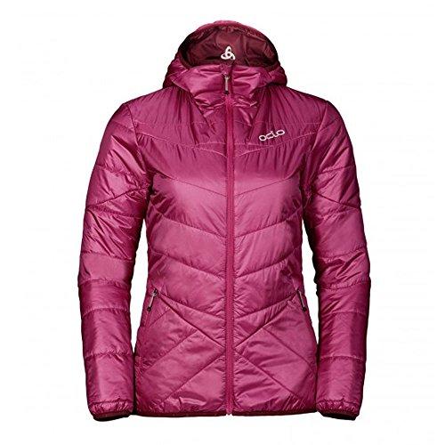 Odlo Damen Jacket Insulated Fahrenheit Primaloft Jacke, Sangria - Zinfandel, XS