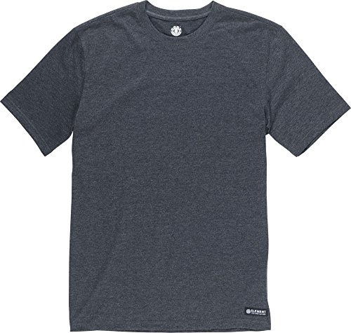 Element Basic Crew T-Shirt Charcoal