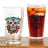 CafePress–Muertos. Png–Pint-Glas, 16oz Trinkglas farblos