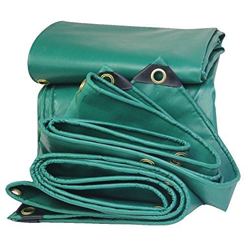 LXYFMS Amici Poncho Telone Olio Crepe PVC Auto Telone Tela Pioggia Telone Impermeabile Panno Solare Resistente Telone da Esterno (Colore : Verde, Dimensioni : 2x3m)