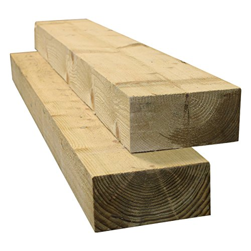 """TIMBER  NEW TANALISED FENCING PICKETS 3x1"""" x 5ft 6""""   25x75mm x 1700 long"""