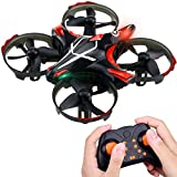 Kuorle Kids Toy Mini Drone, RC Quadcopter Pocket Drone 2.4GHZ 4CH 6Axis Remote