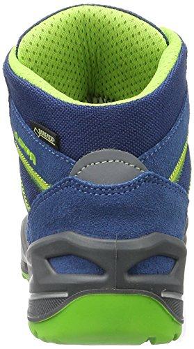 Lowa Unisex-Kinder Simon Ii Gtx Qc Trekking-& Wanderstiefel Blau (Blau/Limone)