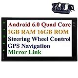 Telecamera posteriore Incluso! Quad Core Android 5.1 autoradio 2 din in precipitare Headunit autoradio con capacitivo da 7 pollici touch Supporto dello schermo di controllo GPS Navitation FM / AM RD