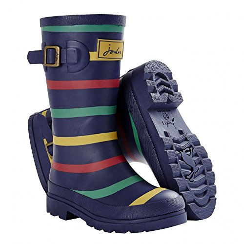 Joules Garçon Junior Champ Welly Marine Multi Bleu Marine