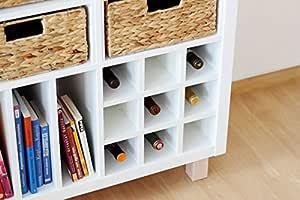 Ikea Kallax Expedit Regal Einsatz für 9 Flaschen (Fächer
